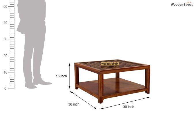 Morse Coffee table (Honey Finish)-6