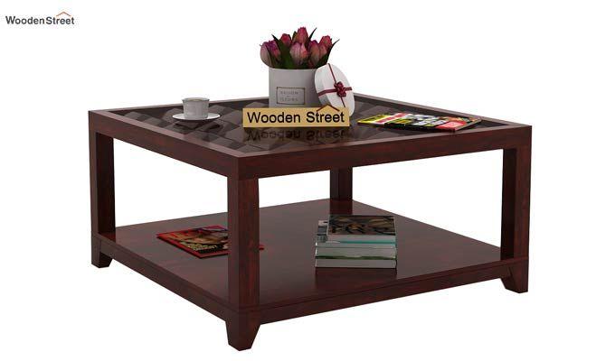 Morse Coffee table (Mahogany Finish)-1