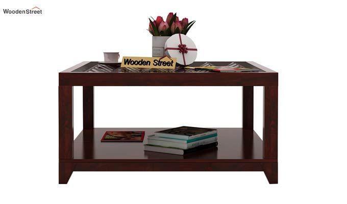 Morse Coffee table (Mahogany Finish)-2