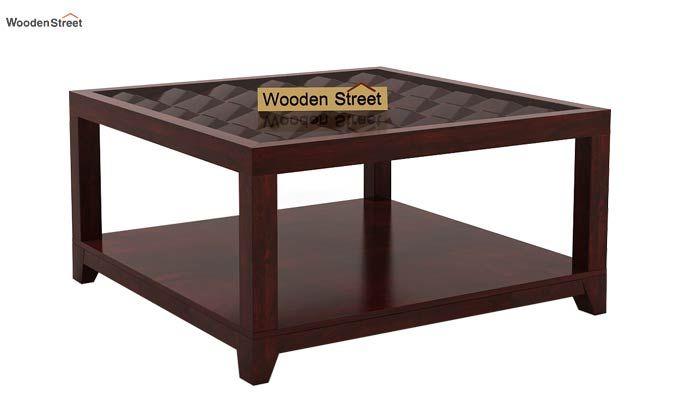 Morse Coffee table (Mahogany Finish)-3