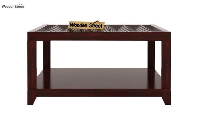 Morse Coffee table (Mahogany Finish)-4
