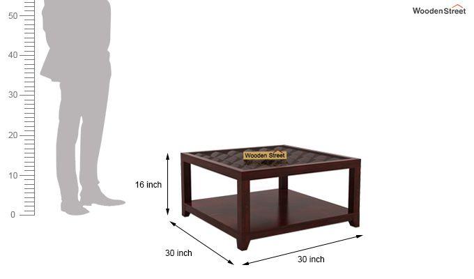 Morse Coffee table (Mahogany Finish)-6