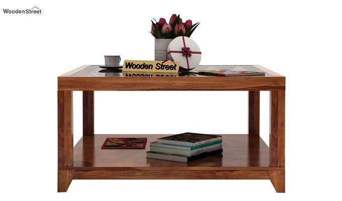 Morse Coffee table (Teak Finish)-2