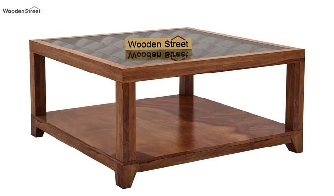 Morse Coffee table (Teak Finish)-3