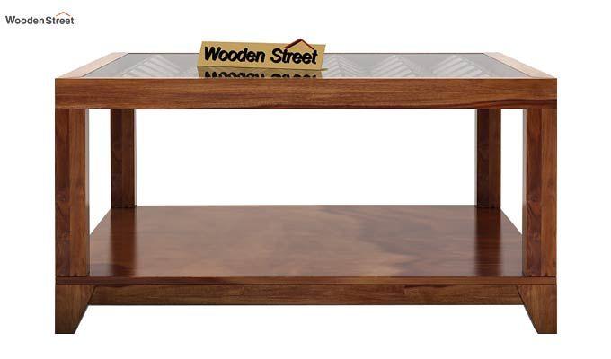 Morse Coffee table (Teak Finish)-4
