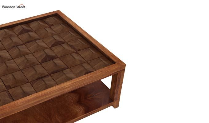 Morse Coffee table (Teak Finish)-5