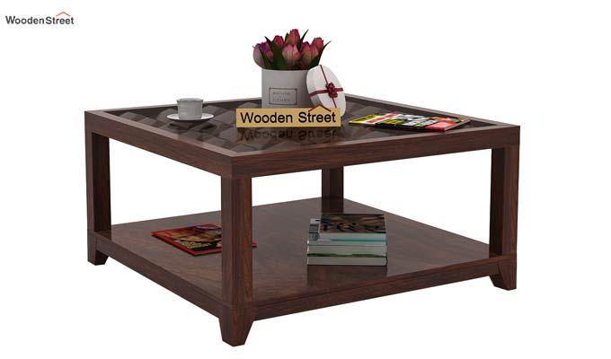 Morse Coffee table (Walnut Finish)-1