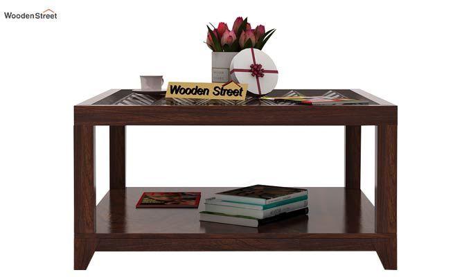 Morse Coffee table (Walnut Finish)-2
