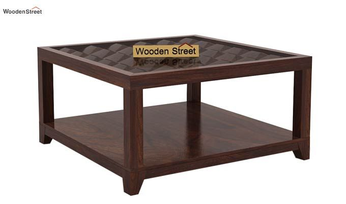Morse Coffee table (Walnut Finish)-3