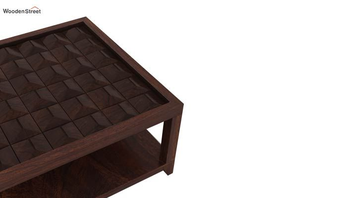 Morse Coffee table (Walnut Finish)-5
