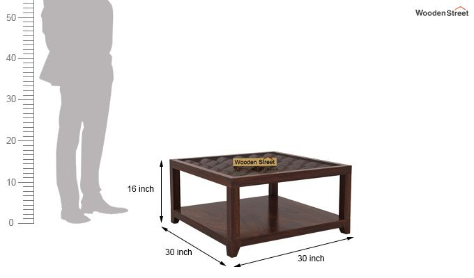 Morse Coffee table (Walnut Finish)-6