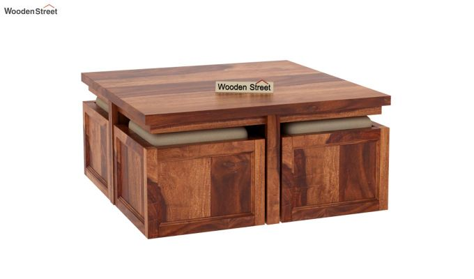 Naoshi Coffee Table (Honey Finish)-3
