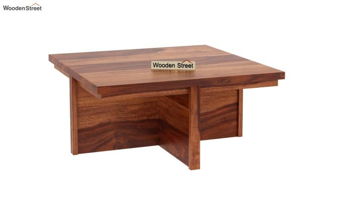 Naoshi Coffee Table (Honey Finish)-4