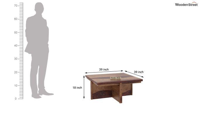 Naoshi Coffee Table (Teak Finish)-6