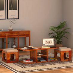 Octavia Coffee Table (Honey Finish)