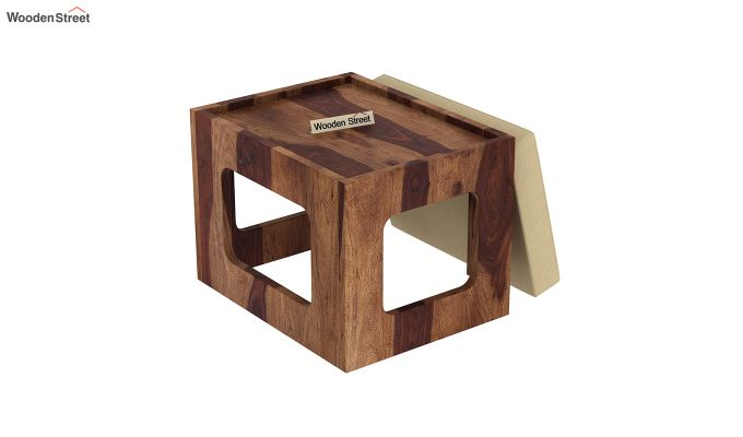Octavia Coffee Table (Teak Finish)-10