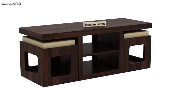 Octavia Coffee Table (Walnut Finish)-3