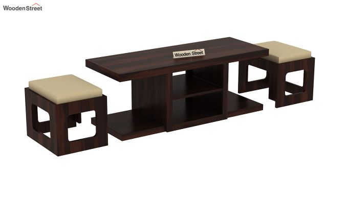 Octavia Coffee Table (Walnut Finish)-5