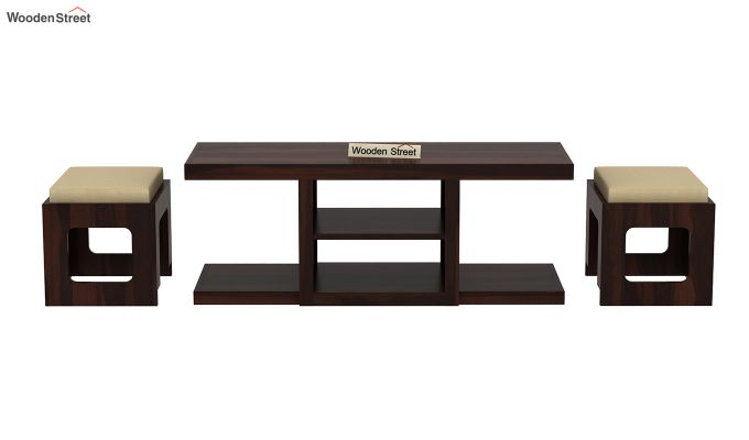 Octavia Coffee Table (Walnut Finish)-6