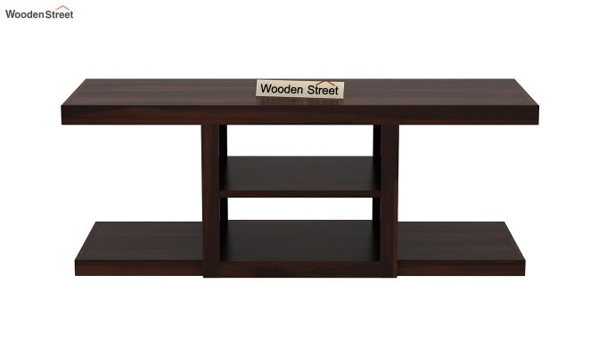 Octavia Coffee Table (Walnut Finish)-7