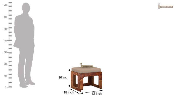 Octavia Coffee Table (Teak Finish)-10