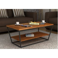 Olay Loft Coffee Table (Teak Finish)
