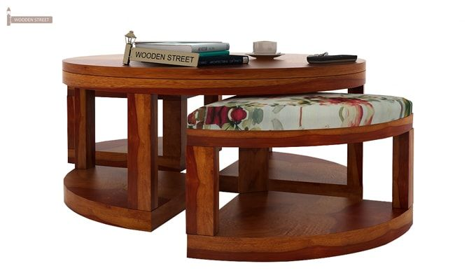 Omar Coffee Table (Honey Finish)-4