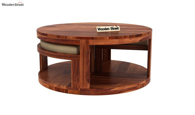 Omar Coffee Table (Honey Finish)-5