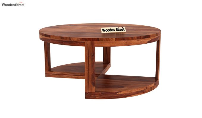 Omar Coffee Table (Honey Finish)-7