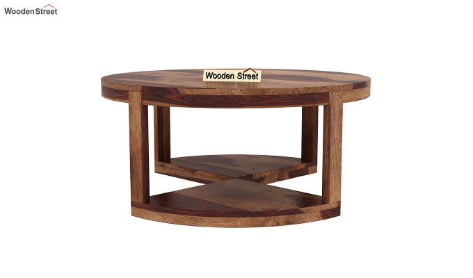 Omar Coffee Table (Teak Finish)-8
