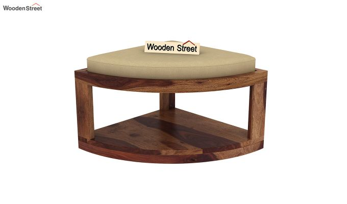 Omar Coffee Table (Teak Finish)-9