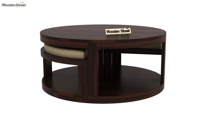 Omar Coffee Table (Walnut Finish)-5