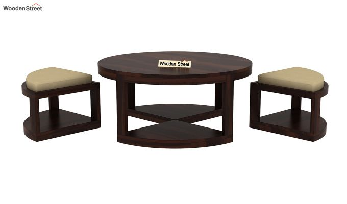 Omar Coffee Table (Walnut Finish)-6