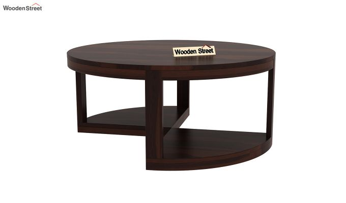 Omar Coffee Table (Walnut Finish)-7