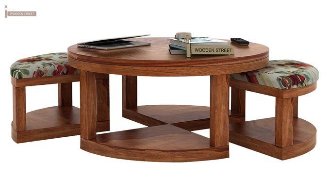 Omar Coffee Table (Teak Finish)-1