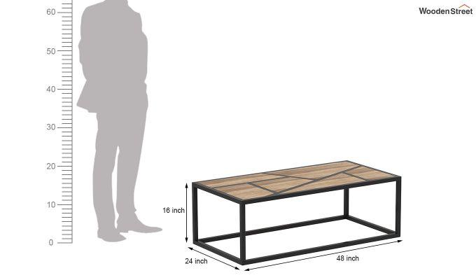 Pablo Loft Coffee Table (Natural Finish)-8