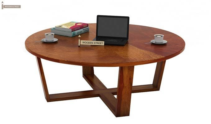 Palam Center Table (Honey Finish)-1