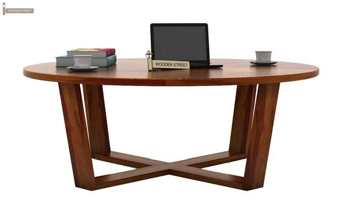 Palam Center Table (Honey Finish)-2