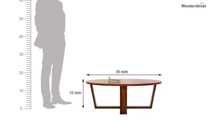 Palam Center Table (Honey Finish)-5