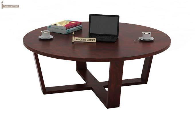 Palam Center Table (Mahogany Finish)-1