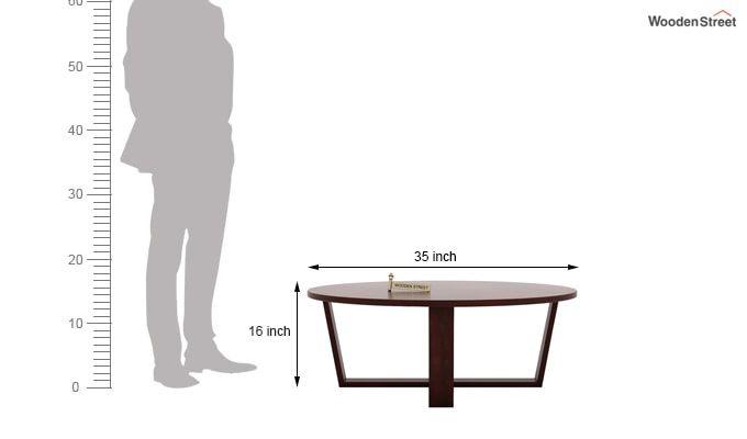 Palam Center Table (Mahogany Finish)-5