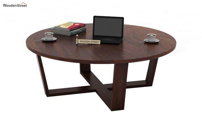 Palam Center Table (Walnut Finish)-1