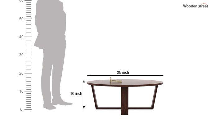 Palam Center Table (Walnut Finish)-5