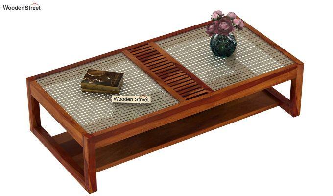 Palm Coffee Table (Honey Finish)-3