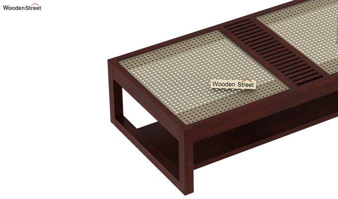 Palm Coffee Table (Mahogany Finish)-6