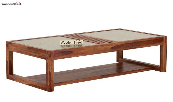 Palm Coffee Table (Teak Finish)-4