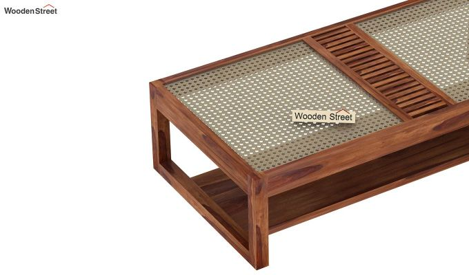 Palm Coffee Table (Teak Finish)-6