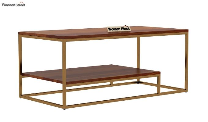 Pastor Coffee Table (Honey Finish)-3