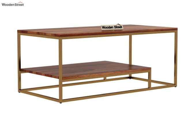 Pastor Coffee Table (Teak Finish)-3