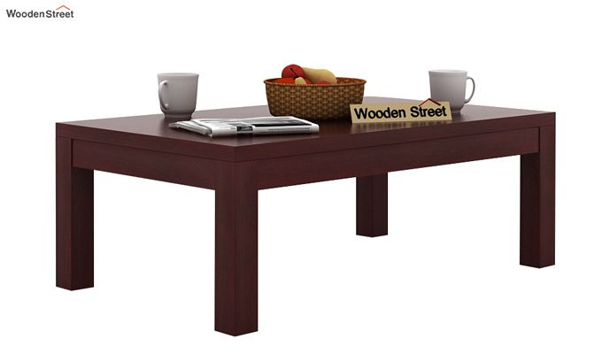 Patricia Coffee Table (Mahogany Finish)-1